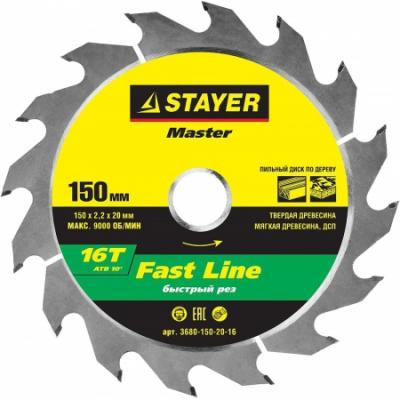 STAYER 3680-150-20-16
