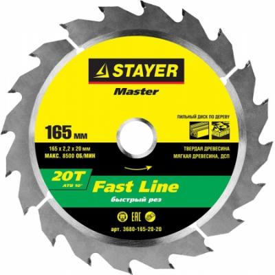 STAYER 3680-165-20-20
