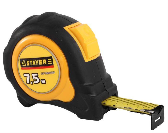 рулетка STAYER 3402-08-25