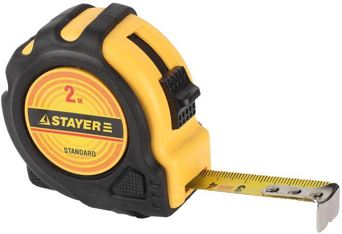 рулетка STAYER 34025-02