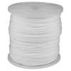 Шнур полиамидный, плетеный, повышенной нагрузки, с сердечником, белый, d -5, катушка -700м Зубр